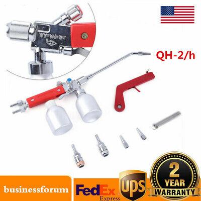Metal Powder Spray Welding Torch Gun Oxygen Acetylene Flame Welder Qh-2h Usa
