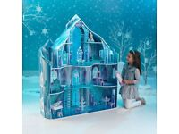 Disney Frozen Snowflake Mansion Doll house by KidKraft (good condition)