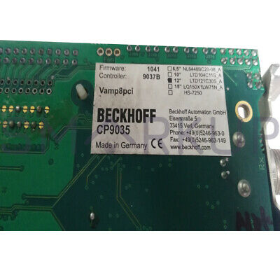 Used Tested Beckhoff Cp9035 Cp-link Interface Card