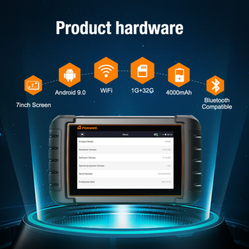 Automotive OBDII Android WIFI Diagnostic Code Reader SAS Oil DPF ABS SRS Scanner - $189.00