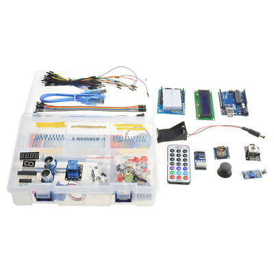 Ultimate Uno R3 Starter Parts Kit 1602 Lcd Servo Motor Relay Rtc Led Bbc