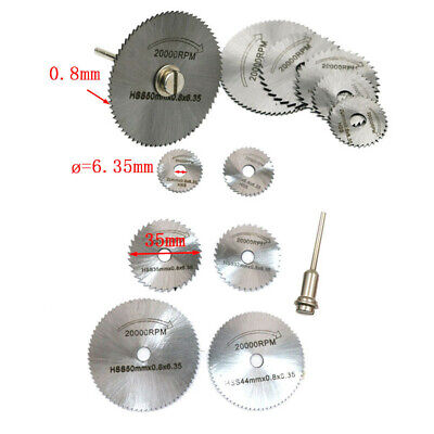 Mini Rotary Cutter - Rotary Cutter Mini HSS Circular Saw Disc Blades Mandrel for Hobby Drill