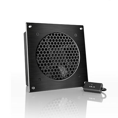 Airplate S3  Quiet Cabinet Fan 6  For Home Theater Av Amplifier Media Cooling