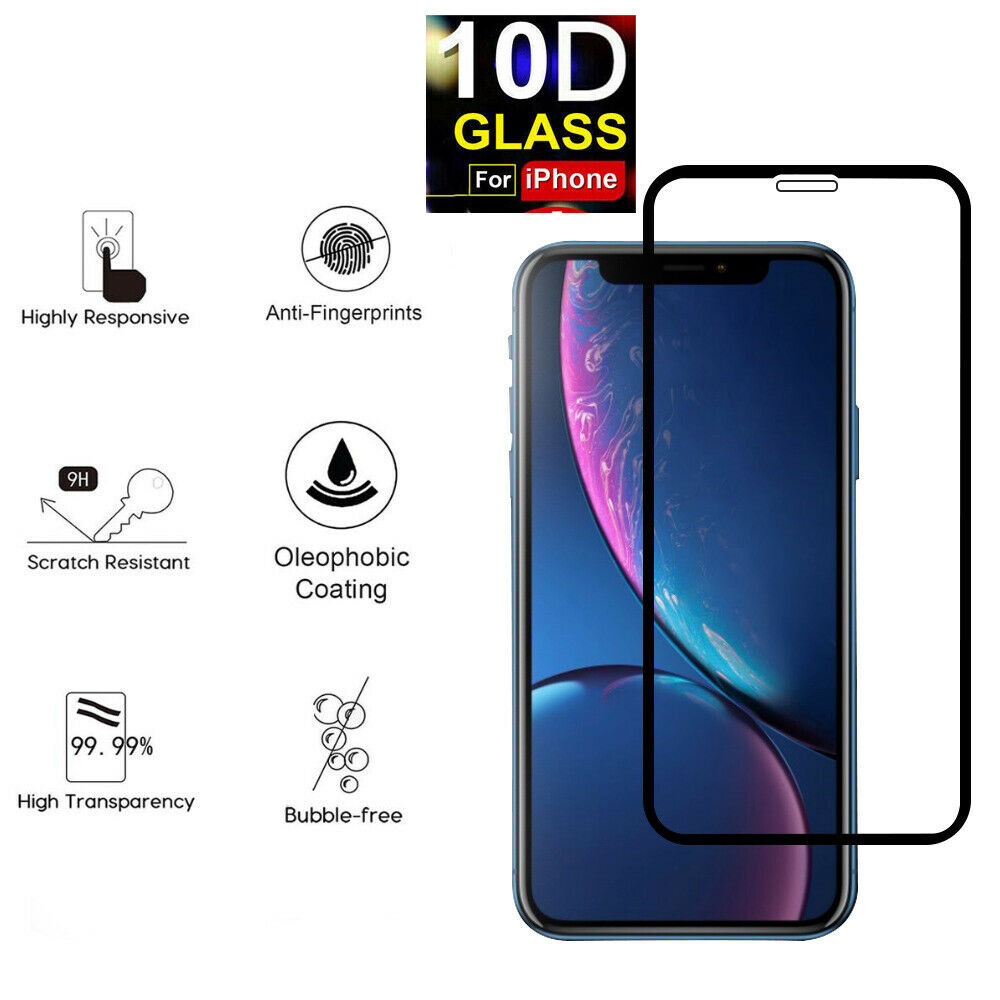 For Apple iPhone 11/11 Pro Max Screen Protector Tempered Glass FULL Coverage 10D Cell Phone Accessories