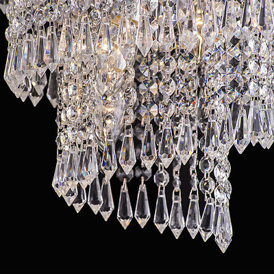 DIy Clear Acrylic Crystal Bead Garland Chandelier Hanging Wedding Supplies WV220 - Garland Diy