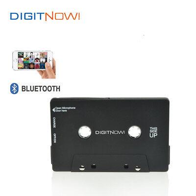 DIGITNOW! Audio Bluetooth Cassette Adapter for Cassette Decks in Black