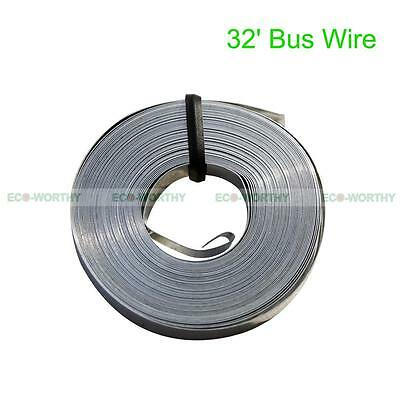 32Feet Bus Wire Solder Covered Connect Solar Cells Solar Panel 5Mm Width