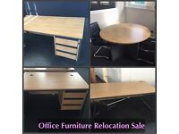 For sale job lot desks chairs meeting room desk