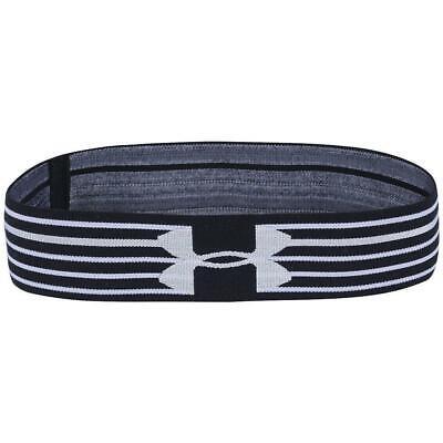 Under Armour Women's HeatGear Armour Headband, Black/White,
