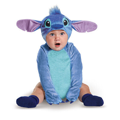 Infant Disney Classic Stitch Alien Costume size 6-12 Months