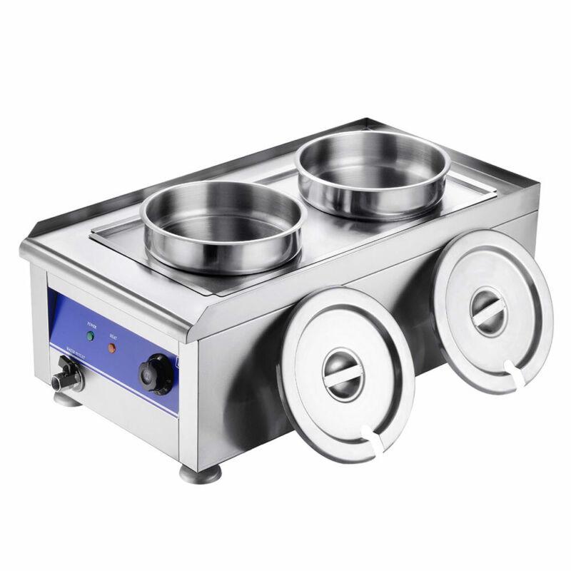 Electric Commercial Soup Kettle Warmer Stainless Steel Food Warmer Restaurants