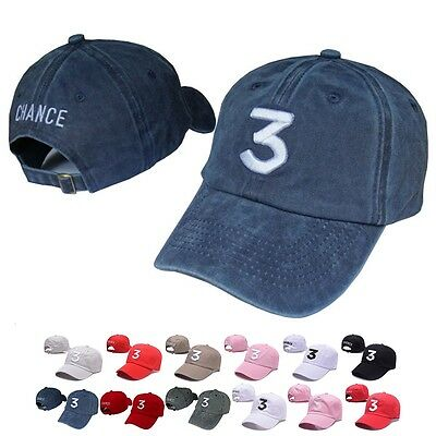 Chance The Rapper 3 Dad Hat Adjustable Embroidery Hip Hop Baseball Cap Hot Sale