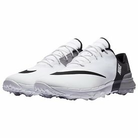 Brand New In Box Mens Size 8.5 Nike Fi Flex Spikeless Golf Shoes