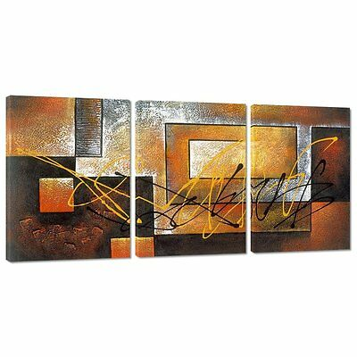 Canvas Painting Picture Modern Landscape Wall Decor Home Frame Hang Set Of 3 Art