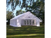 Large (10m * 6m) 'Gala' Marquee for hire near Rugby
