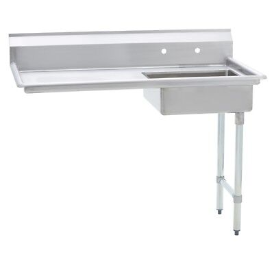 Stainless Steel Commercial Undercounter Dish Table Right Side  30 X 60 G