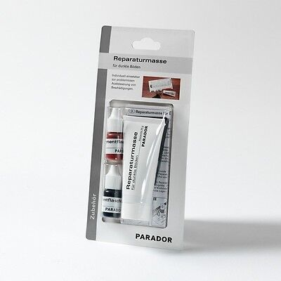 PARADOR Reparaturmasse Reparaturset für dunkle Böden Vinyl Laminat Parkett ()