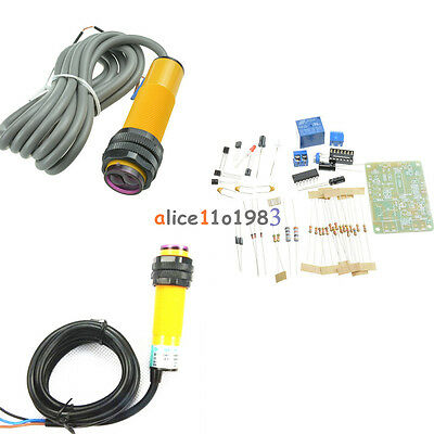 E18-d50nk E18-d80nk Npn Adjustable Infrared Reflectance Sensor Switch Diy Kit