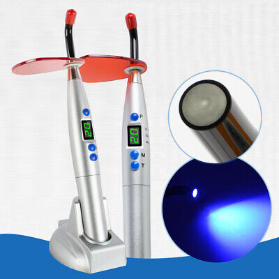 5w Dental Dentist Wireless Cordless Led Teeth Whitening Curing Light Lamp 1500mw