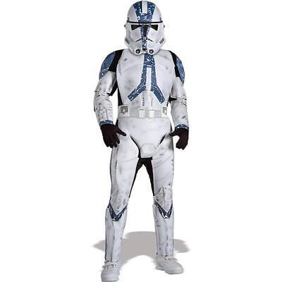 Deluxe Kids Clone Trooper Storm trooper size Medium 5 -7  Costume - Clone Trooper Costumes
