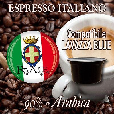 OFFERTA!!! REALE CAFFE' - 100 Capsule cialde caffè compatibili Lavazza Blue