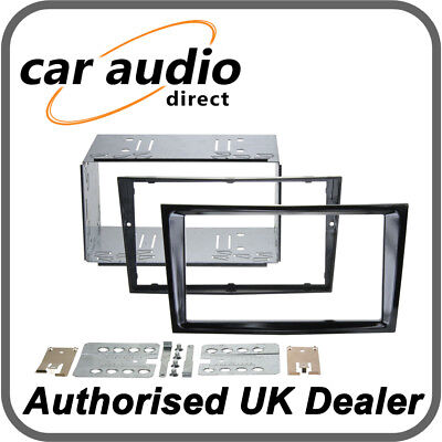 Connects2 CT23VX36 Piano Black Double DIN Facia Kit for Vauxhall Astra/Corsa
