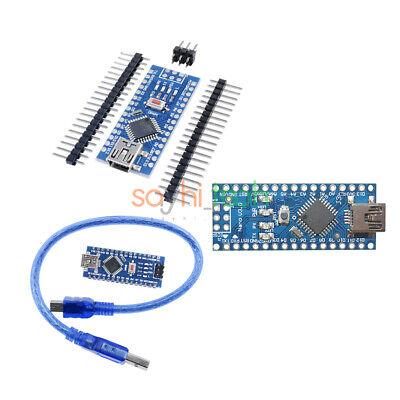 Nano V3.0 Atmega328p Mini Usb Ch340gft232 5v 16m Micro-controller Board Arduino