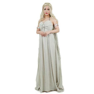 Daenerys Targaryen Dress Mother of Dragons Cosplay Costume Game of Thrones