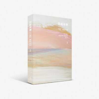BTS 花樣年華 THE NOTES 2 English Ver Book+Special Note+Tracking Number