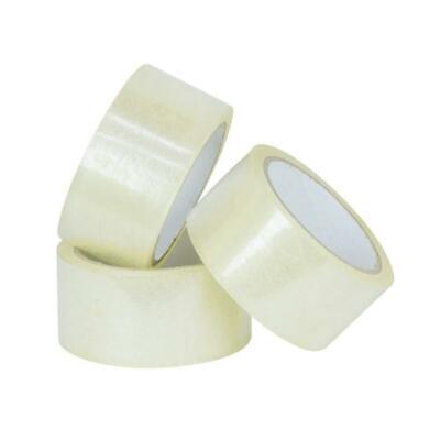 36 Rolls Carton Sealing Clear Packing Shipping Box Tape- 2 Mil- 2 X 55 Yards