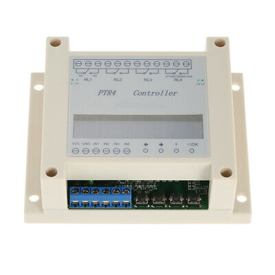 4-channel Programmable Digital Time Relay Timer Controller Delay Switch Module