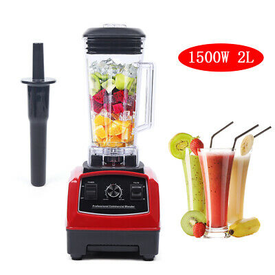 2hp 1500w New Heavy Duty Commercial Blender Mixer Power Juicer Food Process