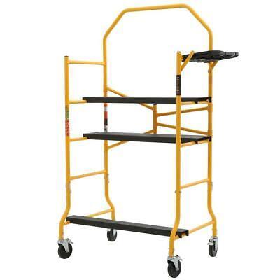 Metaltech Scaffolding Set 900 Lbs. Load Capacity 5 Ft. X 4 Ft. X 2-12 Ft. Metal
