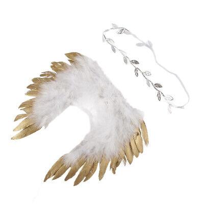Mädchen Jungen Engel Flügel Kostüm Outfits Foto Fotografie - Engel Kostüme Für Jungs