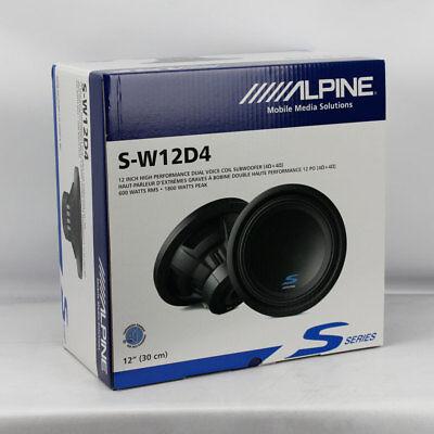 ALPINE S-W12D4 TYPE S-SERIES 12