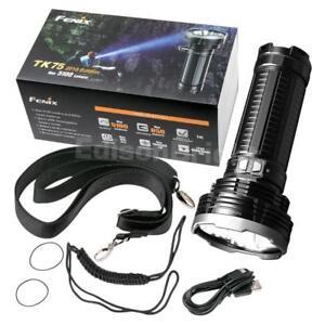 Fenix TK75 2018 Edition 5100 Lumens  LED Searchlight/Flashlight w/ USB charging