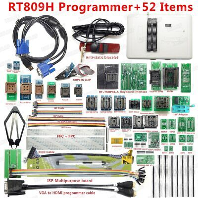 Rt809h Emmc-nand Flash Programmer 56 Adapters With Cabel Emmc-nand Suction Pen