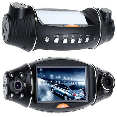 "2.7"" Dash Cam FHD Front & Rear Car Dashboard Camera Dual DVR Recorder G-Sensor"