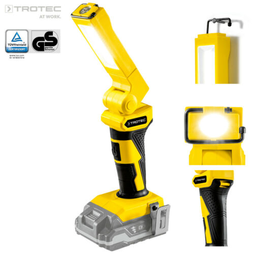 TROTEC Accu Werklamp PWLS 10 (zonder accu) | LED Zaklamp Staaflamp Lamp Licht