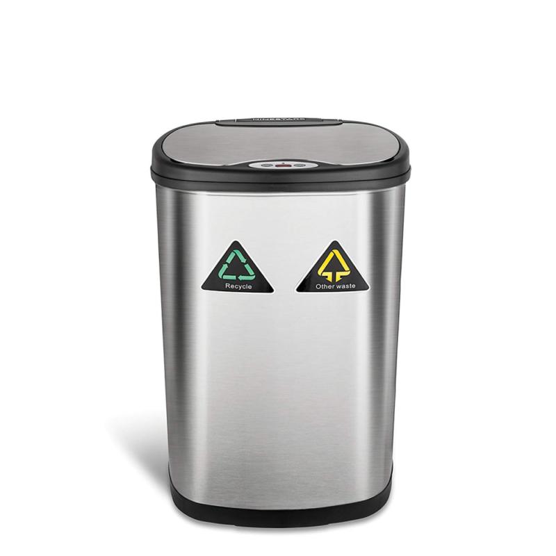 Nine Stars 13.2-Gallon Motion Sensor Recycle Unit and Trash