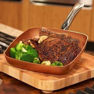 Square Frying Pan Kitchen Dining Amp Bar Ebay