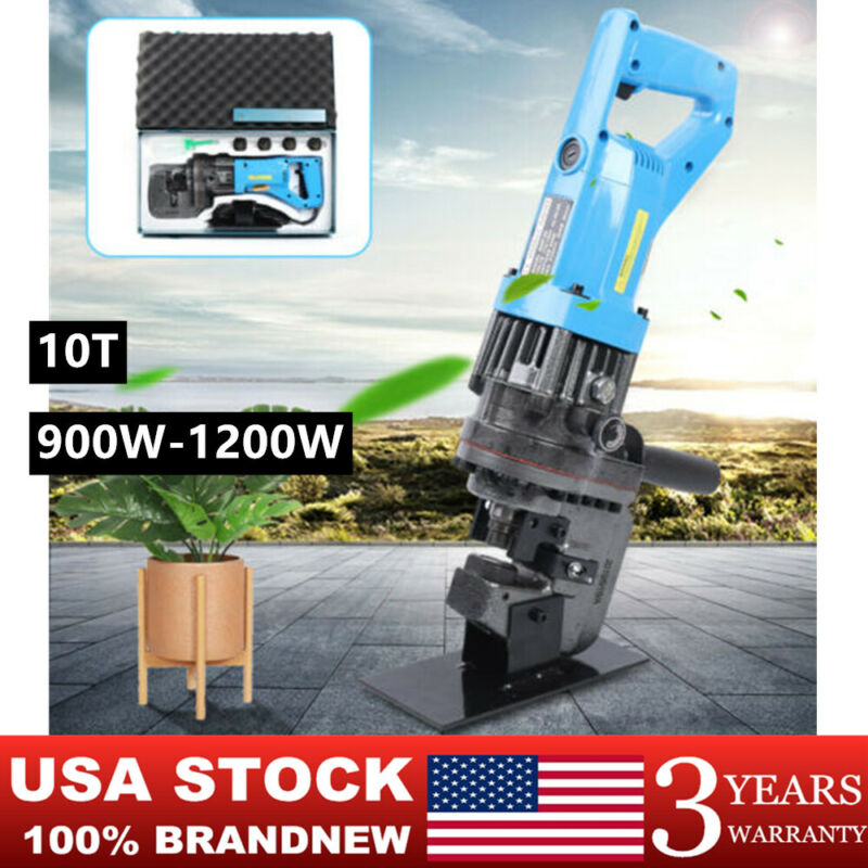 10T Electric Hydraulic Hole Puncher Hole Copper/aluminum/Iron/steel plate Punch