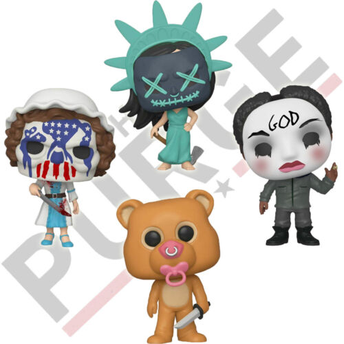 Official Purge Election Lady Liberty Betsy Ross Funko Pop Vinyl Figures