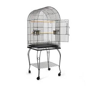 Parrot Pet Aviary Bird Cage w/ Open Roof 150cm Black Silverwater Auburn Area Preview