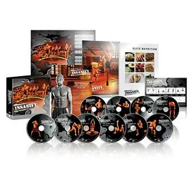 INSANITY WORKOUT BRAND NEW!