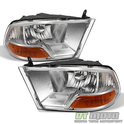 2009 2010 2011 2012 2013 2014 2015 2016 2018 Dodge Ram 1500 2500 3500 Headlights