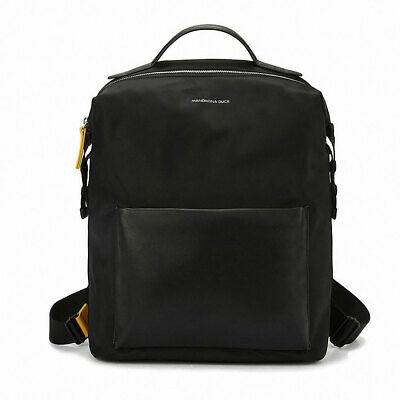 "MANDARINA DUCK Ladies Backpack ORE ORT02651 Casual 15"" Laptop Nylon Black"