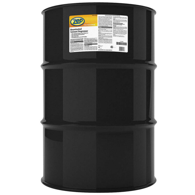 Zep R19185 Brominated Solvent Degreaser - 55 Gallon Drum