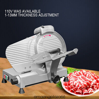 10 Blade Commercial Meat Slicer Electric Lamb Beef Slicer Veggies Cutter Fda A