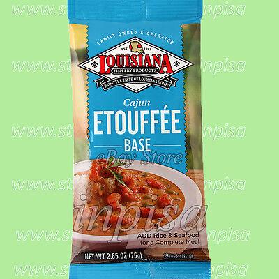 - LOUISIANA CAJUN ETOUFFEE BASE 6 Bags x 2.65oz, FOR CRAWFISH, SHRIMP, OR CHICKEN